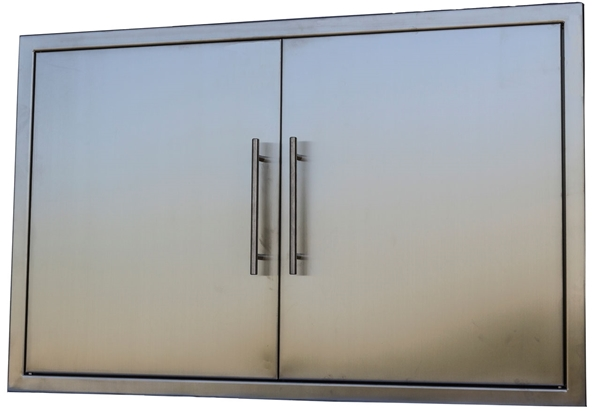 """Picture of BBQ Island Stainless 39"""" Double Door"""