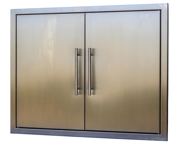 """Picture of BBQ Island Stainless 31"""" Double Door"""