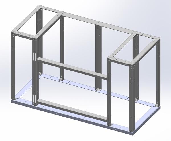 "Aluminum BBQ Cabinet 30""- 40"" BBQ"