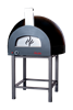 Subito Cotto 100 Outdoor Pizza Oven in Black