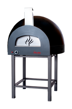 Subito Cotto 100 Outdoor Pizza Oven in Black