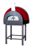Subito Cotto 100 Outdoor Pizza Oven in Red